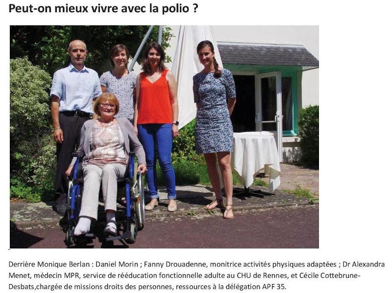 rencontre femme avec polio